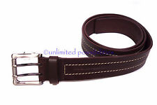 OROTON Sequel Mens Leather Belt New Size 32 Chocolate 84 cm long No Tags