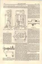1899 Coulthard Triple Expansion Engine Jennings Richmond Steam Valve