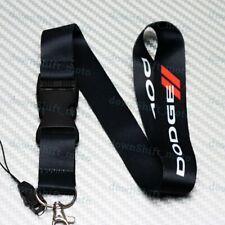Car Neck Strap Lanyard Keyring Key Chain Cellphone for JDM DODGE CHARGER Black