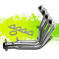 STAINLESS RACING MANIFOLD HEADER/EXHAUST FOR 99-00 HONDA CIVIC Si EM1 B16A2