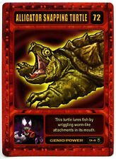 Alligator Snapping Turtle #72 Marvel 2003 Genio TCG CCG Card (C314)