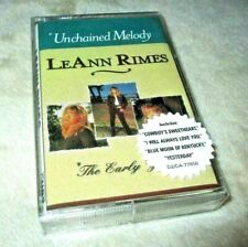 """LEANN RIMES """"UNCHAINED MELODY: THE EARLY YEARS"""" CASSETTE TAPE country music NEW!"""