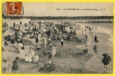 cpa 17 - La nouvelle Plage de LA ROCHELLE en 1907 à Elodie NICOLET de TULLE