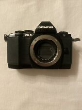 Olympus OM-D E-M10 16.1MP Digital SLR Camera - Black (Body Only)