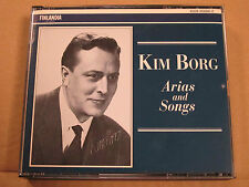 Kim Borg Arias and Songs 3CD 1953-1963  Finlandia