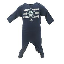 Seattle Mariners Official MLB Adidas Baby Infant Size Creeper Bodysuit New Tags