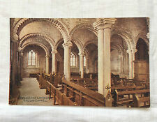 Vintage postcard : Durham, Cathedral, Galilee Chapel, Photochrom Celesque