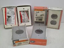 Lot Of 6! Wiremold Receptacle Switch Cover *Original Package* Ph Free Ship!