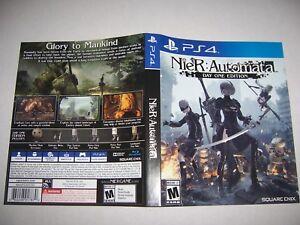 Original Replacement Case Box PlayStation 4 PS4 Nier Automata *NO GAME*