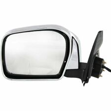 00-04 Toyota Tacoma Power Non-Heated Chrome Left Driver Side Mirror