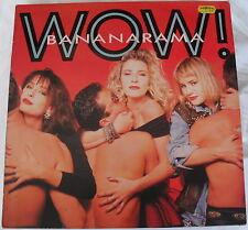 """Banananarama - Wow - 12"""" LP London RAMA 4"""