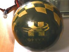 NEW, EBONITE OPTXY TEN PIN BOWLING BALL, WEIGHT 16lb. BRUSER. MADE IN THE USA.