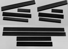 Einstiegsleisten Edelstahl Carbon Optik  für BMW 3 E36 Compact