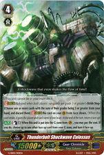Cardfight! Vanguard Thunderbolt Shockwave Colossus G-SD01/001  Light Play Fast S