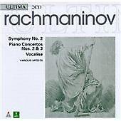CD DOUBLE ALBUM - Sergey Rachmaninov - Rachmaninov: Symphony No. 2; Piano Concer