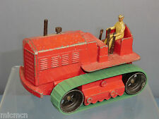 DINKY SUPERTOYS modello n. 563 / 963 blaw Knox TRATTORE pesante (ROSSO) versione