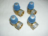 """Membran Sicherheitsventil Überdruckventil Wasser von 4,0 - 10,0 bar 1/2"""" DN 15"""