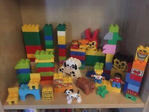 Lego Duplo Bundle 100 PIECES Joblot Assorted Building Blocks Toddler set 2