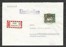 Mi.Nr. 229 EF  RECO  portogerecht   Berlin - Vaduz Lichtenstein