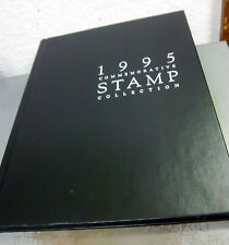 USA stamps 1995 hard cover stamp collection including all stamps from that year