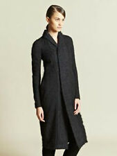 RICK OWENS Slave Coat Long Black Sz 40 (US 6)