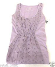 Nautica Lilac Outer Banks Eyelet Chemise, L