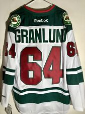 Reebok Premier NHL Jersey Minnesota Wild Mikael Granlund White sz L