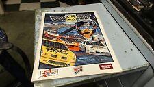 NASCAR souvenir Magazine-1989 All Pro Auto Parts 500 Charlotte Motor Speedway
