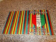 ALBUM FOTOCALCIO 1963 1964 COMPLETO(-17 FIGURINE) OTTIMO TIPO PANINI MIRA RELI