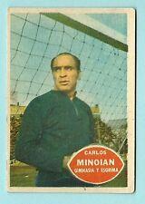 1960s Argentina Golazo Football Soccer trading card Carlos Minoian Goalkeeper