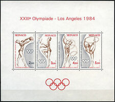 Monaco 1984 SG#MS1645 jeux olympiques neuf sans charnière m/s #D40625