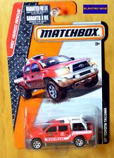 Matchbox Toyota Tacoma [Lifeguard/Red] - New/Sealed/VHTF [E-808]