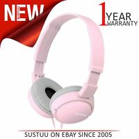 Sony MDRZX110P│Over-Ear Stereo Sound Monitoring Headphones│3.5 mm Jack│Pink│NEW