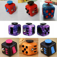 Magic Fidget Cube Adults Anti Anxiety Stress Relief Focus Funny Toy Relief Gifts