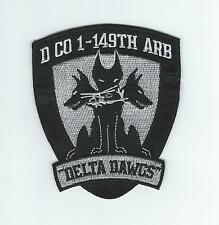 "D CO 1-149th ARB ""DELTA DAWGS"" patch"