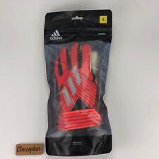 Adidas Nemeziz Training Goalkeeper Gloves GK Soccer Football Red DY2588 Size 5