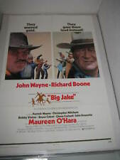 BIG JAKE JOHN WAYNE (1971) US AUTHENTIC ORIGINAL 27x41 MOVIE POSTER (468)