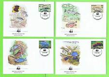 Fish First Day Cover Grenadian Stamps (1974-Now)