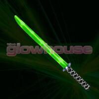 Light Up Ninja Sword Toy Green Flashing Sword …