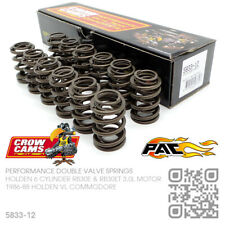 CROW CAMS 330lb DOUBLE VALVE SPRINGS 6 CYL RB30ET TURBO 3L [HOLDEN VL COMMODORE]