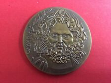 Medaille Bronze /Olympia 1896 /Kopf des Zeus