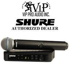 Shure BLX24/B58 J10 BLX24 Handheld Wireless System W/ Beta 58A Microphoine *J10