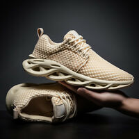 Men's Casual Shoes Sports Fashion Sneakers Breathable Running Jogging Shoes Mesh