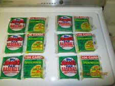 LOT OF 6 packs 1990 Topps Baseball Jumbo Pack,106 cards each thomas griffey.?