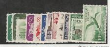 Norfolk Island, Postage Stamp, #26-41 Mint Hinged Set, 1960-62