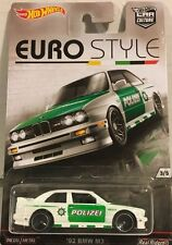 HOTWHEELS RARE EURO STYLE 92 BMW  M3 REAL RIDER RUBBER TYRES""