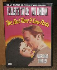 The Last Time I Saw Paris DVD Elizabeth Taylor Troma