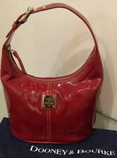DOONEY & BOURKE  NWOT  Bucket Bag  Red Patent Leather with Bag GORGEOUS!!