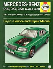Mercedes-Benz C-Class Petrol & Diesel Service and Repair Manual (Haynes Service