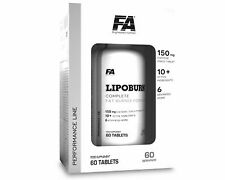 LIPOBURN FA (LIPO BURN) 60 servings CLINICALLY VALIDATED RAPID WEIGHT LOSS POWER